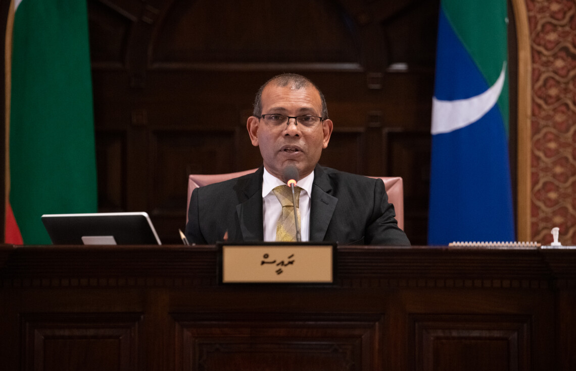 Speaker Nasheed: Out of 32 only 4 bills submitted so far